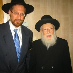 Rabbi-Shafier-with-his-Rebbe